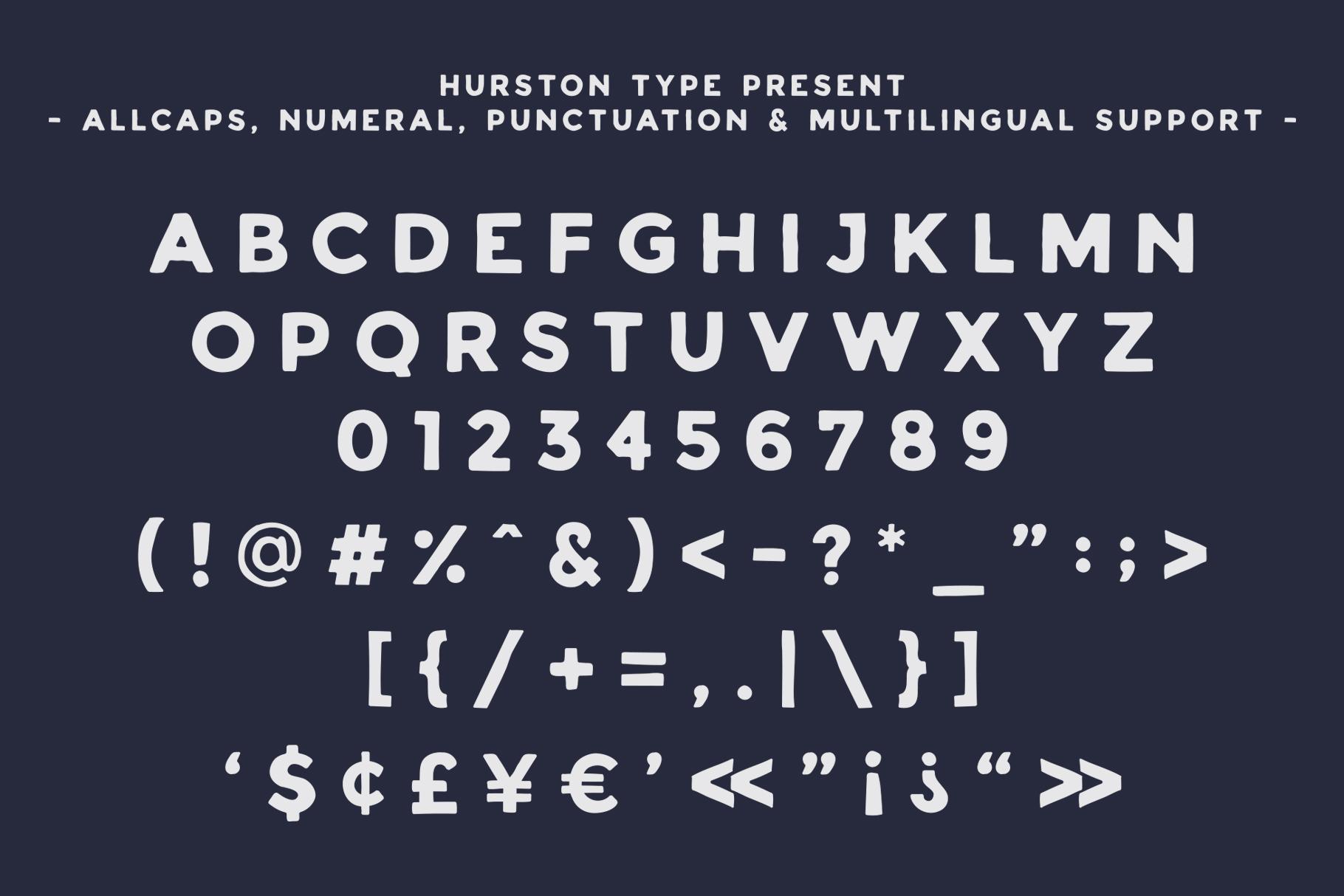 HURSTON TYPE example image 2