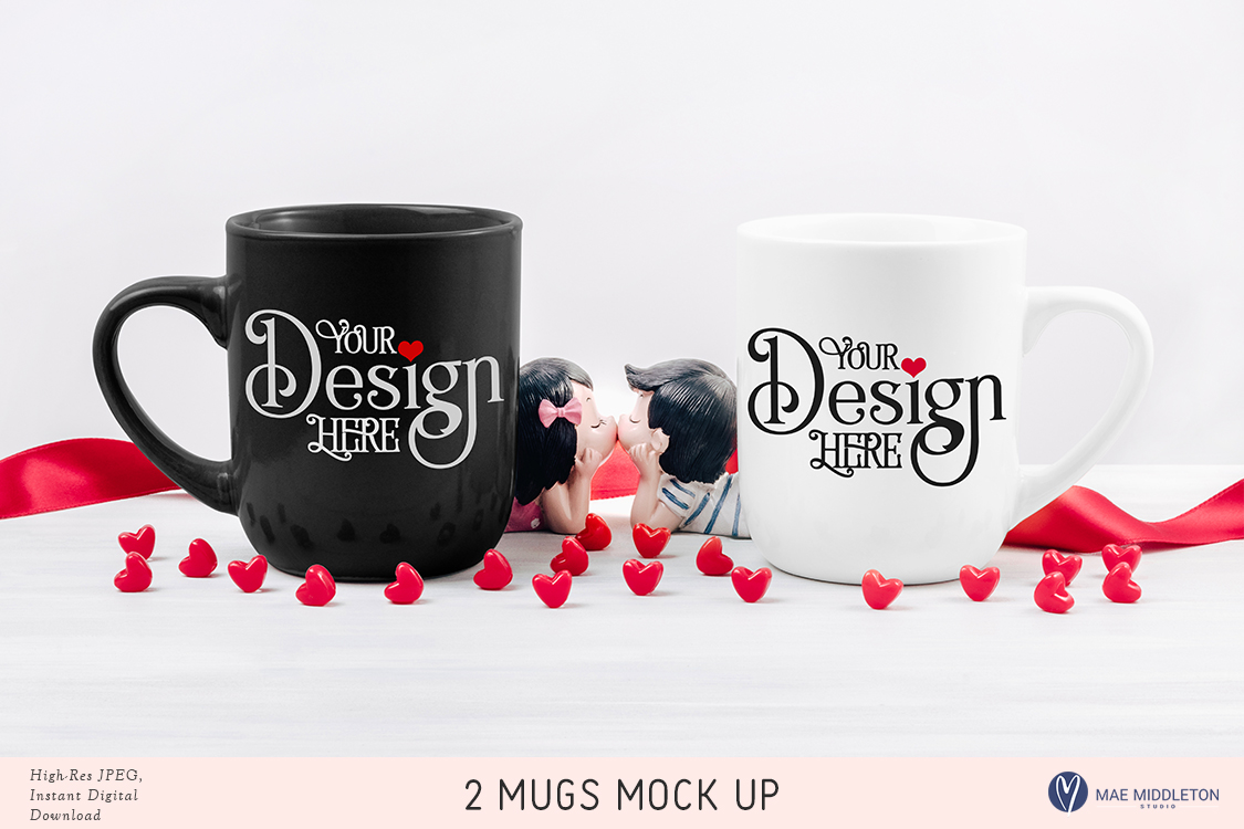 So Much Love! Mock up Bundle, valentine styled photos example image 5