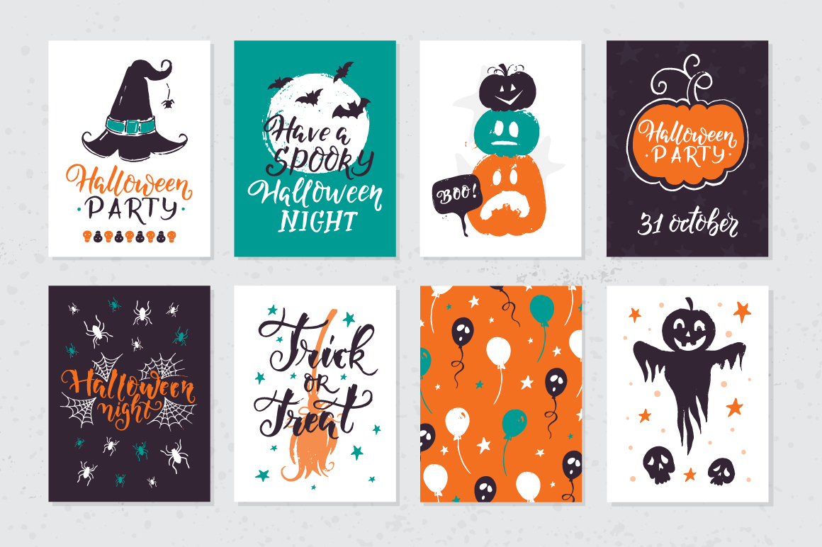 Halloween night Mega Pack! example image 8