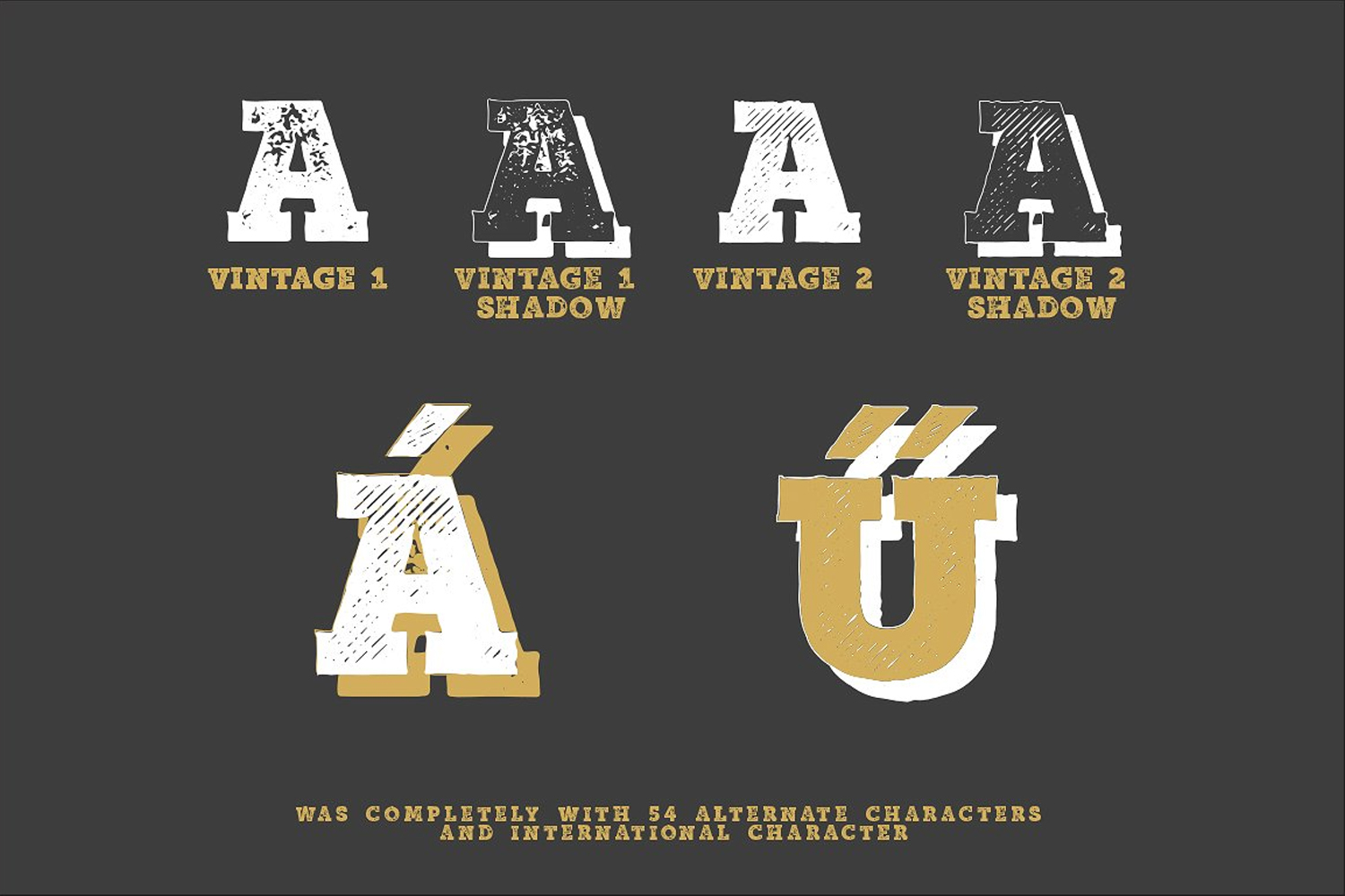Authentic Vintage Font Bundle example image 4