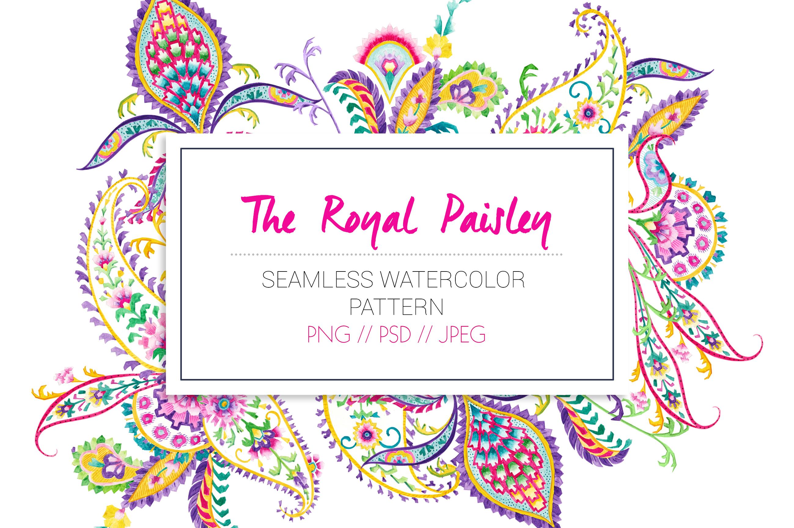 Royal Paisley example image 10