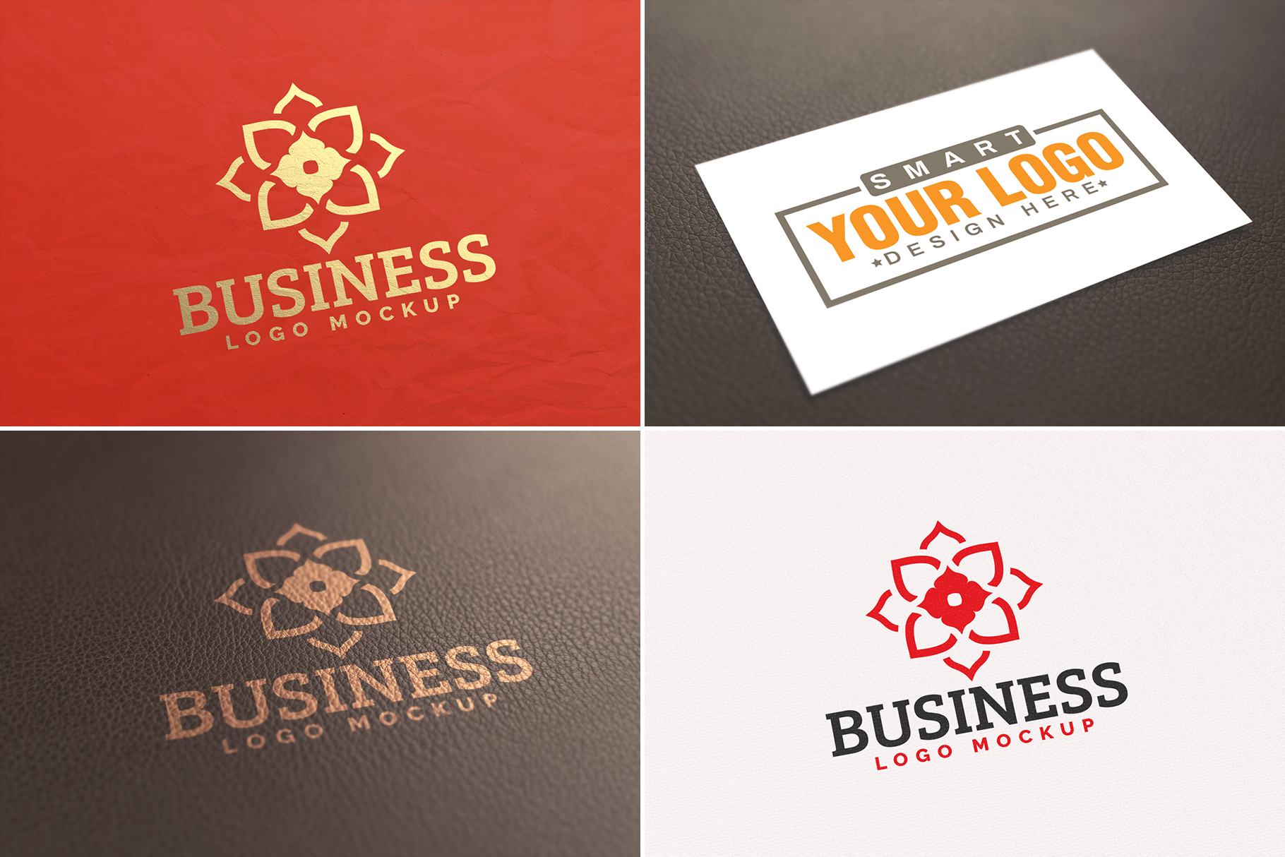 100 Logo Mockups Bundle Vol.3 example image 7