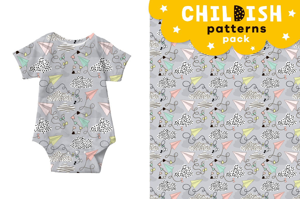 Childish patterns pack vol. 2 example image 7