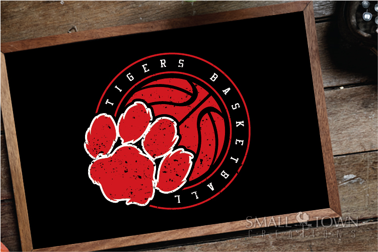 Tigers basketball, tiger mascot, team, PRINT, CUT, DESIGN example image 9