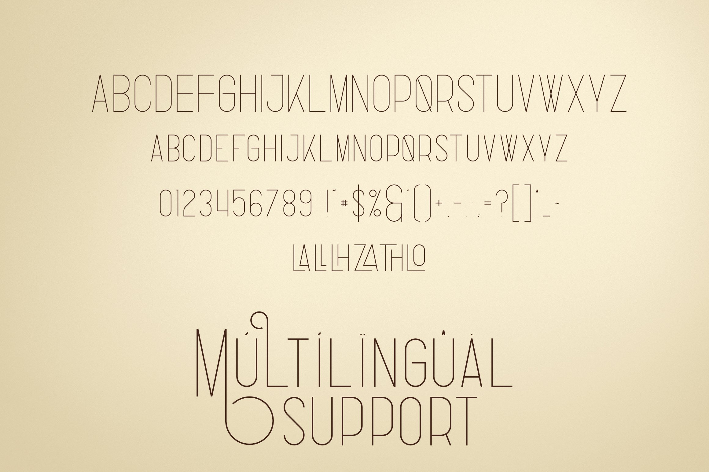 Bestseller font collection 6 typefaces in 1 example image 3
