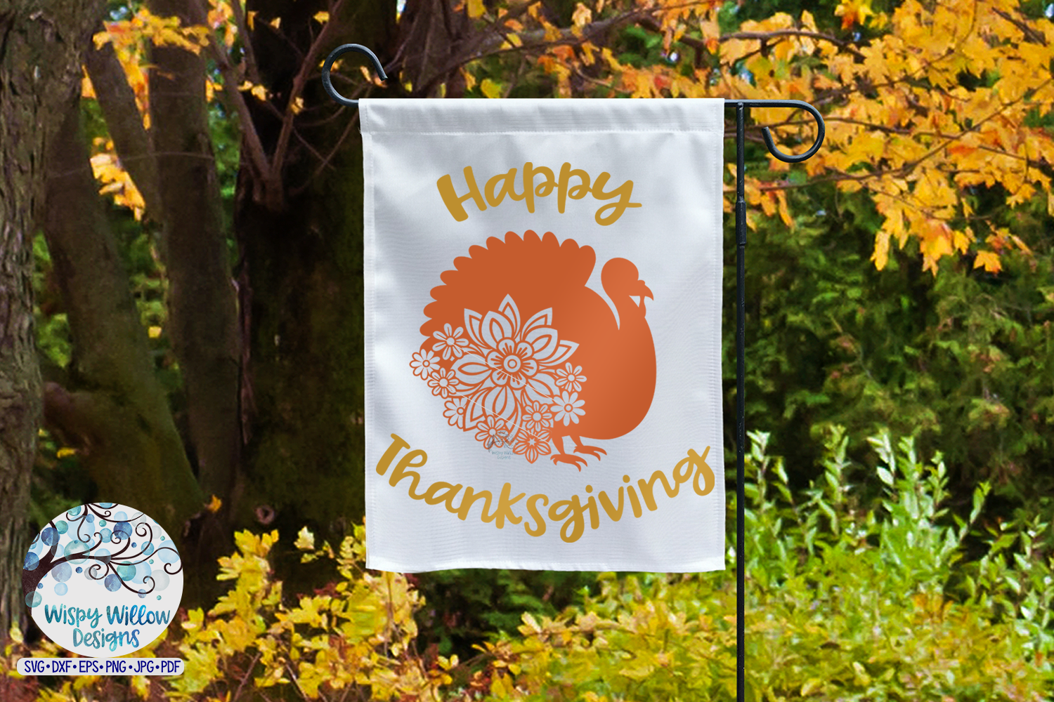 Happy Thanksgiving SVG |Turkey SVG | Fall SVG Cut File example image 3
