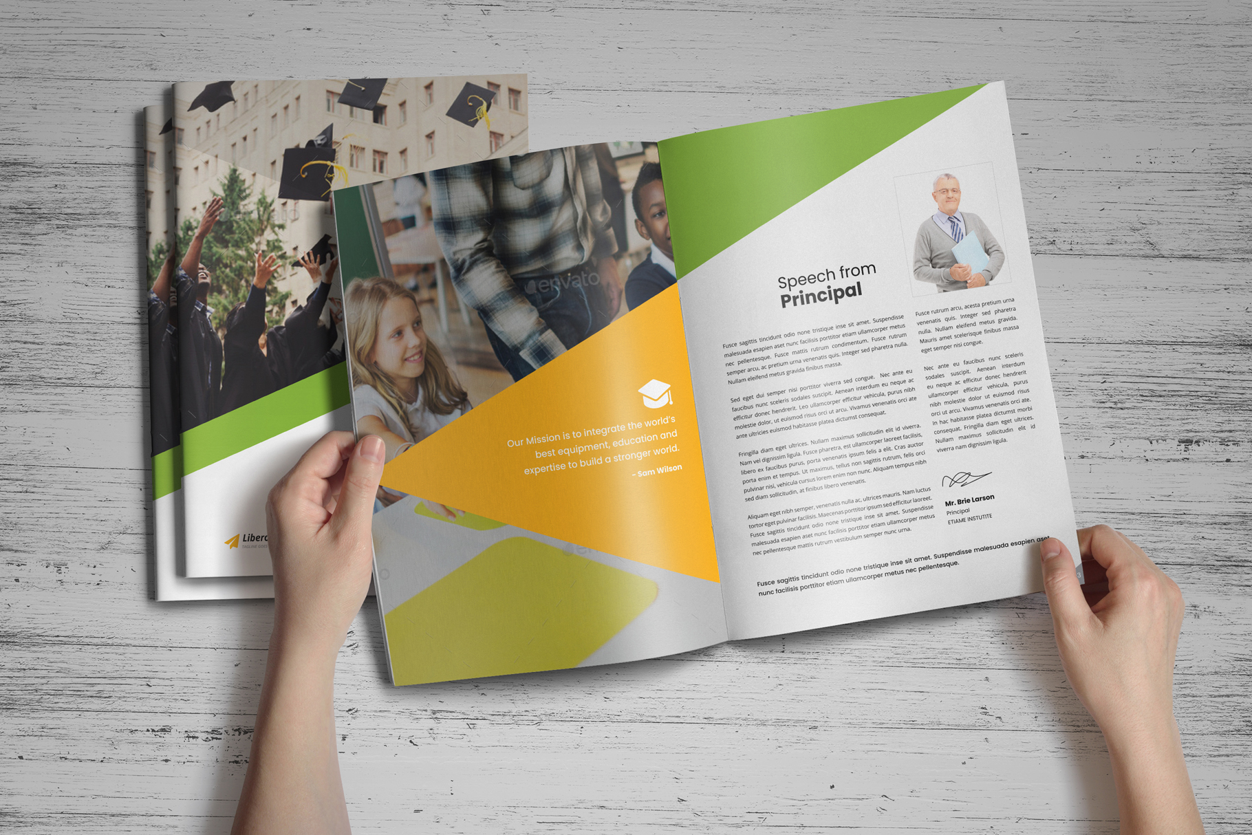 Education Prospectus Brochure v7 example image 16