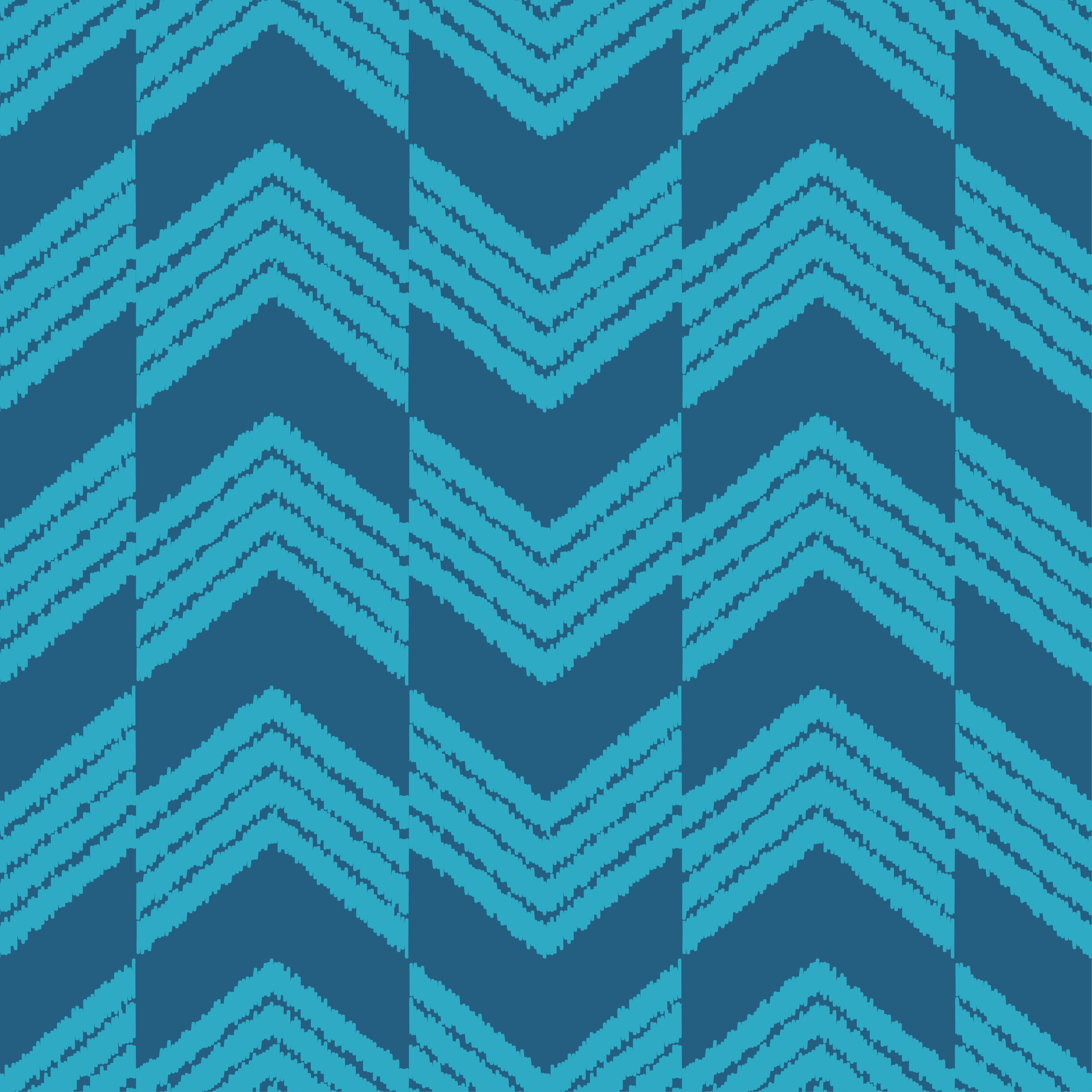 Ethnic boho seamless pattern. Scribble zigzag texture.  example image 4