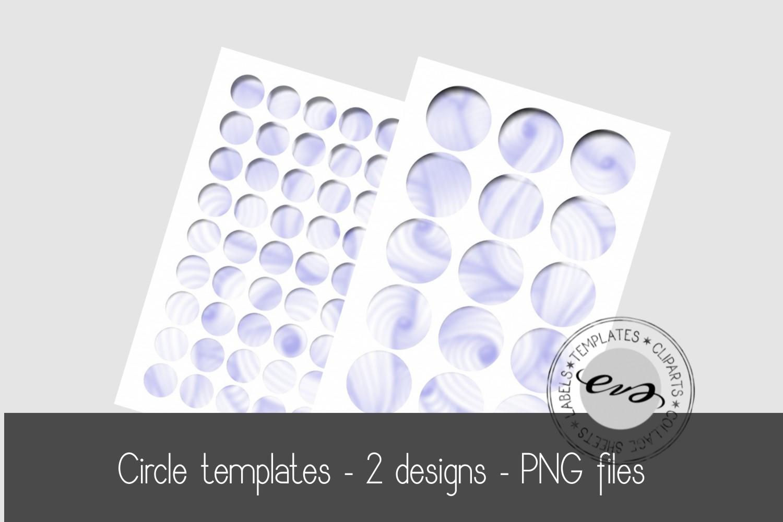 Digital circle sheet templates example image 1