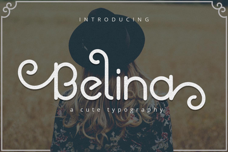 Belina Font example image 1