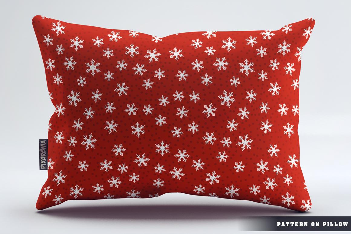 100 Snowflake Seamless Patterns example image 23