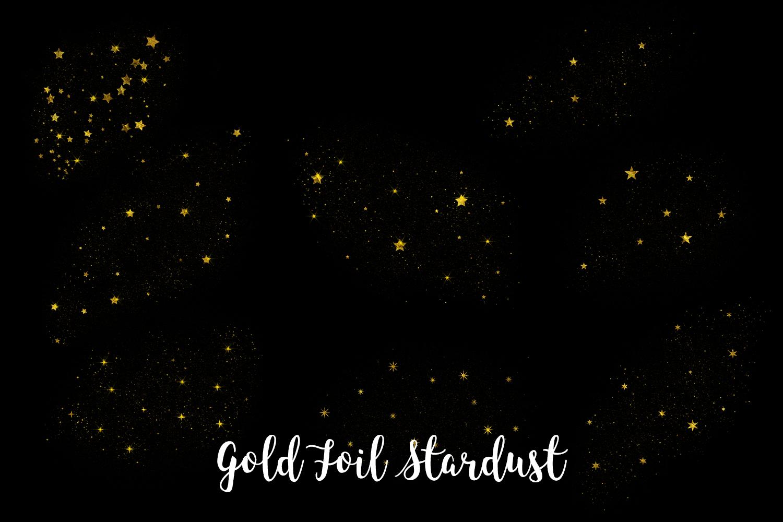 Gold Foil Stardust, Transparent PNG example image 3