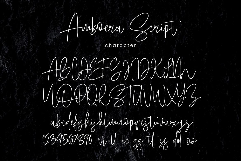 Amboera Script example image 7