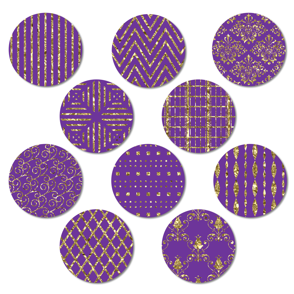Purple and Gold example image 3