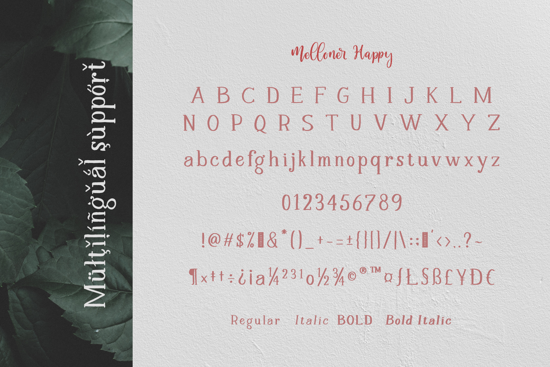 Melloner Font example image 9