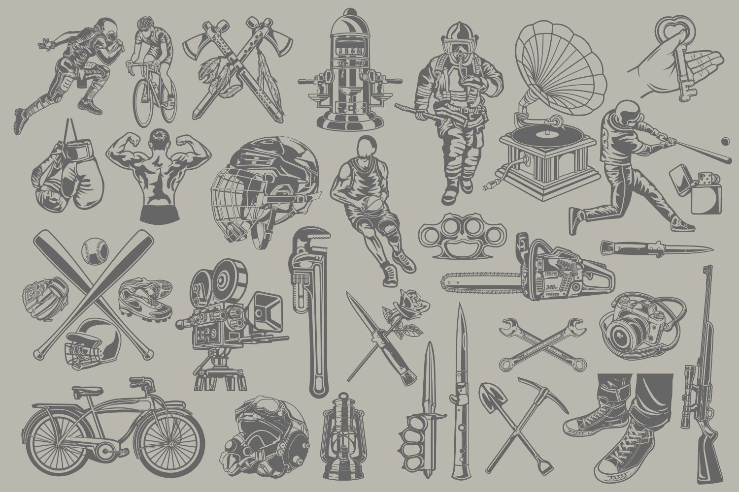 The Vector Bundle - 147 Vector Objects example image 9