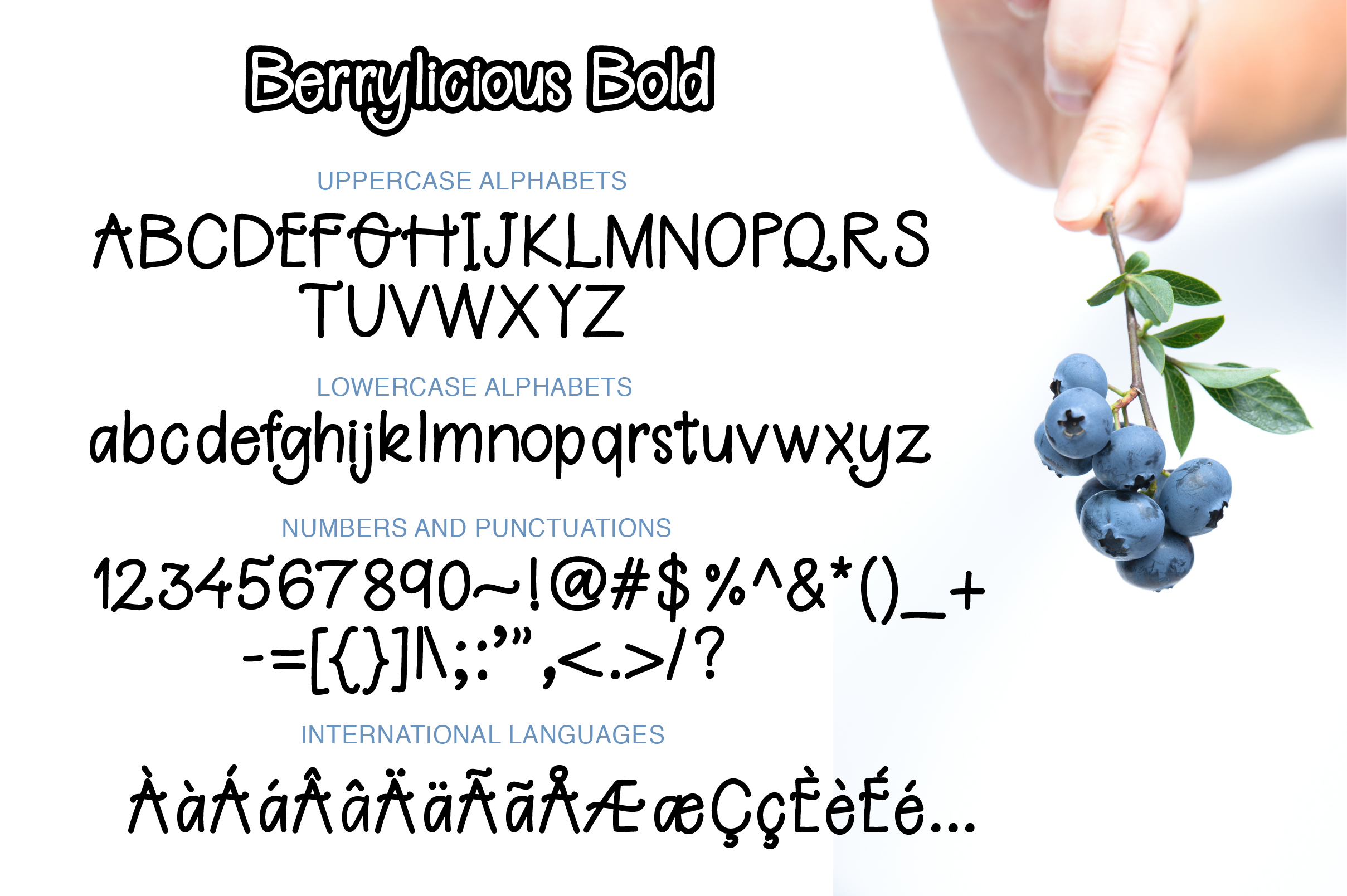 Berrylicious Font example image 2
