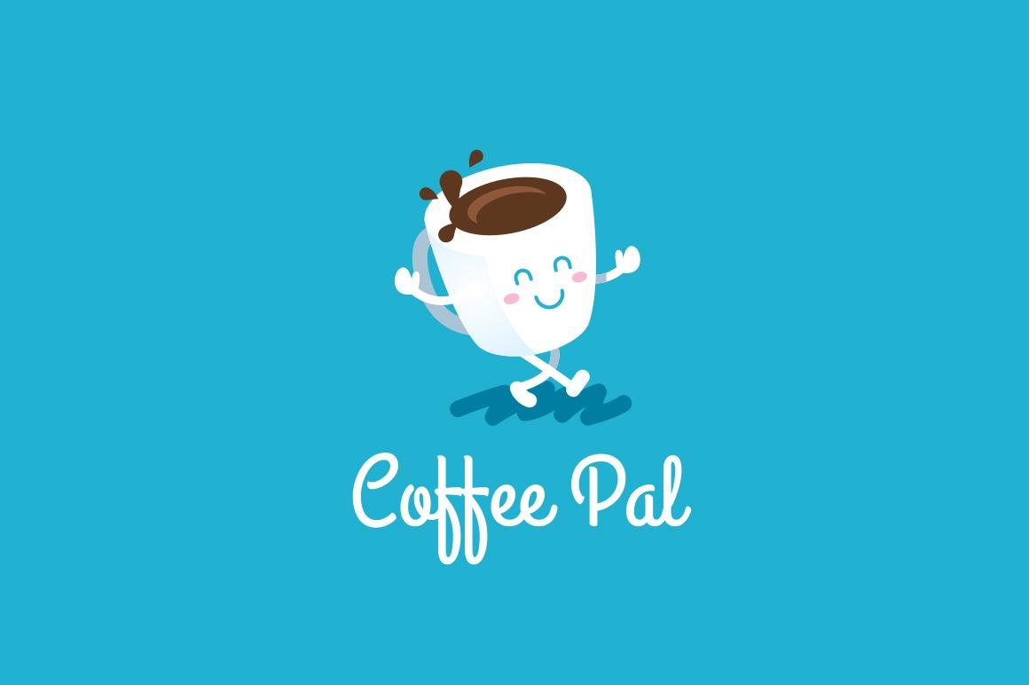 Coffee Pal - Coffee Logo Template example image 1