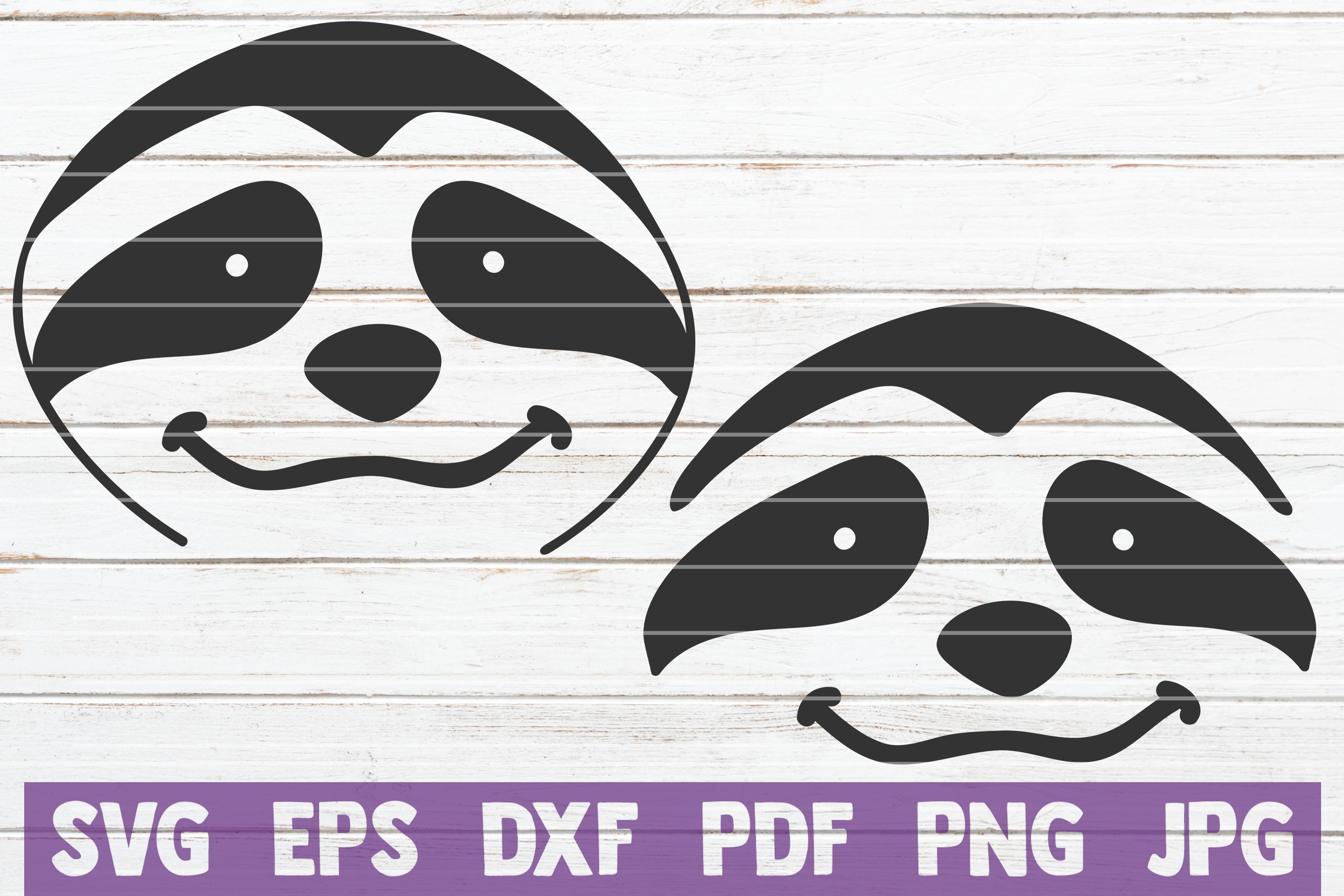 Sloth SVG Bundle | SVG Cut file | commercial use example image 6