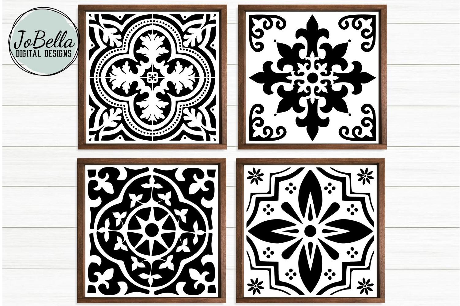 image about Printable Designs named Spanish Tile SVG Offer, Sublimation Printable Programs