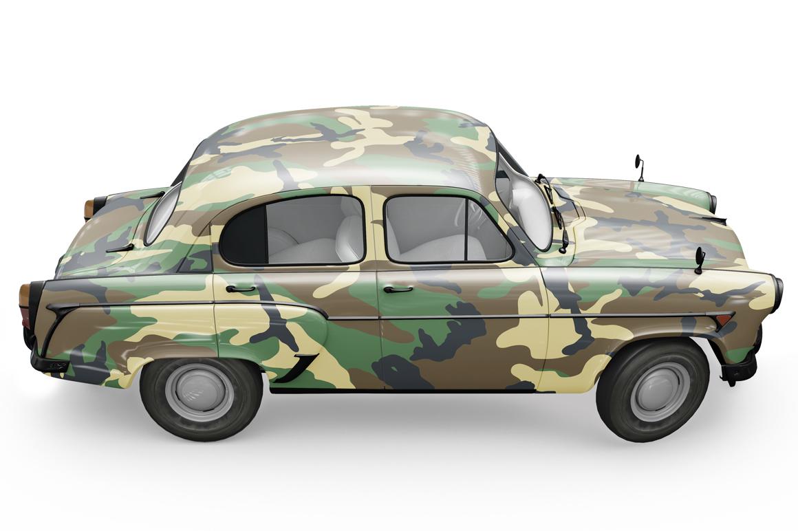 Vintage Car Mockup example image 15