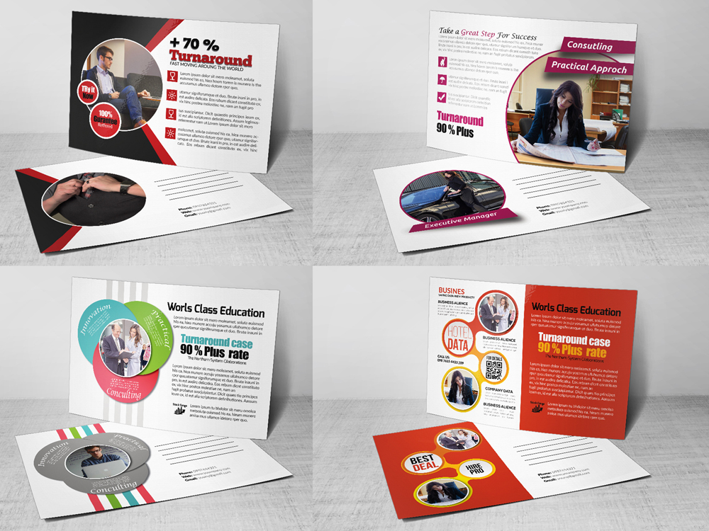 10 Business Postcards Bundle example image 2