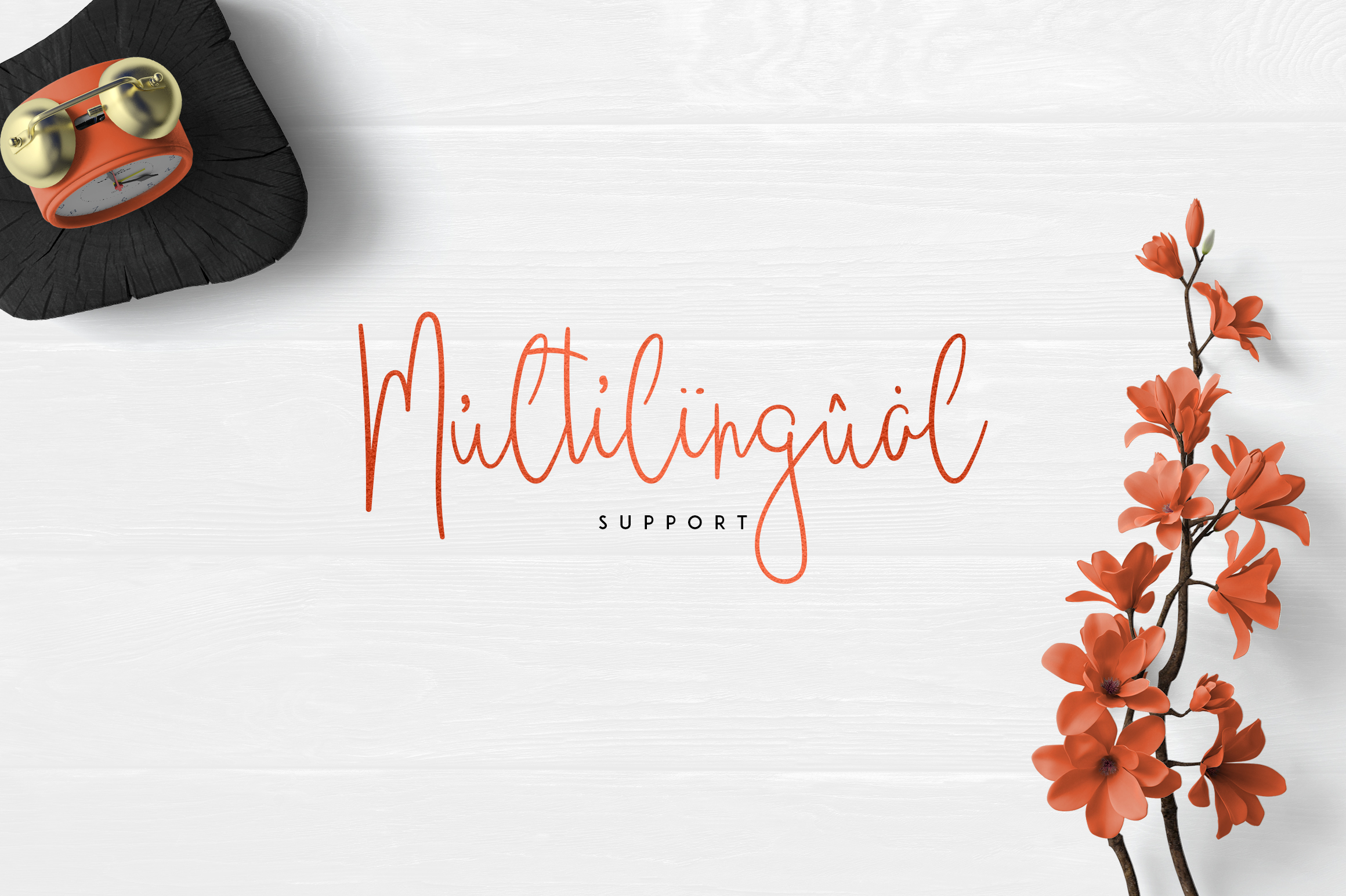 JustBecause font family example image 6