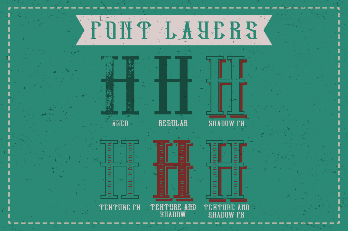 Hipster label typeface example image 4