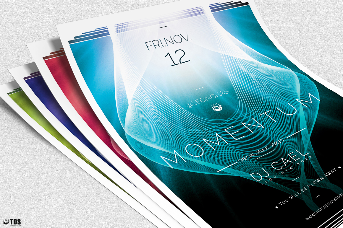 Momentum Flyer Template example image 5