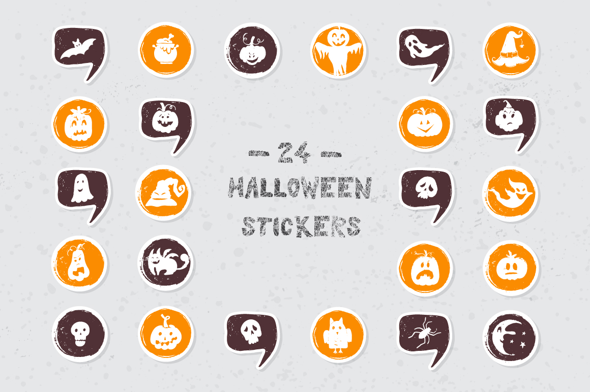 Halloween night Mega Pack! example image 15
