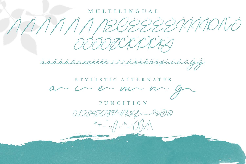 Elizany Handwritten Font example image 2