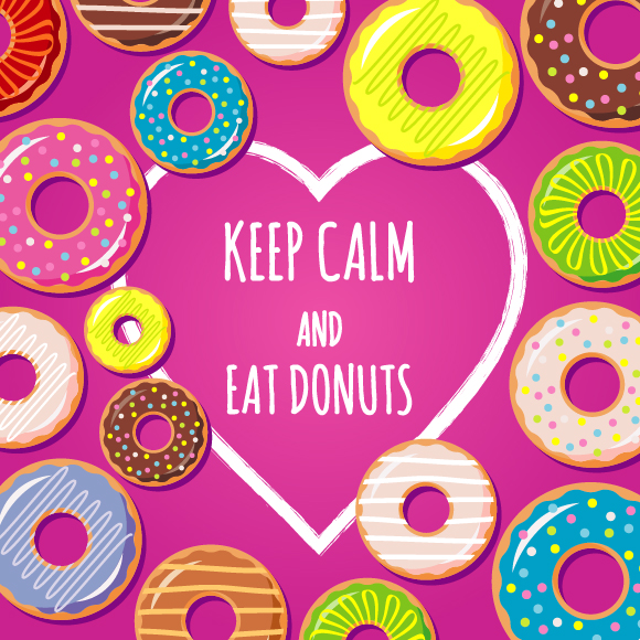 Collection Of Donuts example image 13