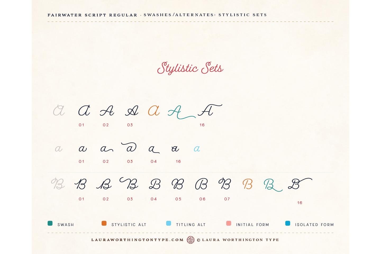 Fairwater Script Regular example image 11