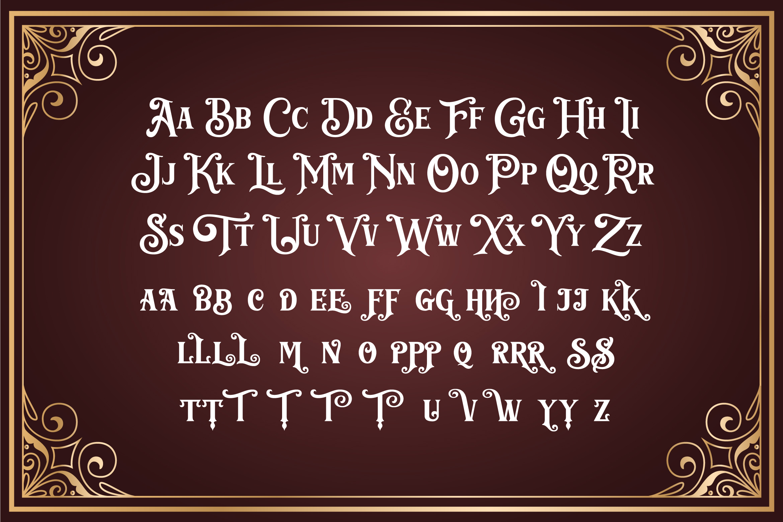 Barthez - Victorian Serif Font example image 10