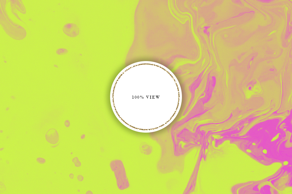 Neon Ink Backgrounds - Abstract Neon Liquid Digital Paper example image 5