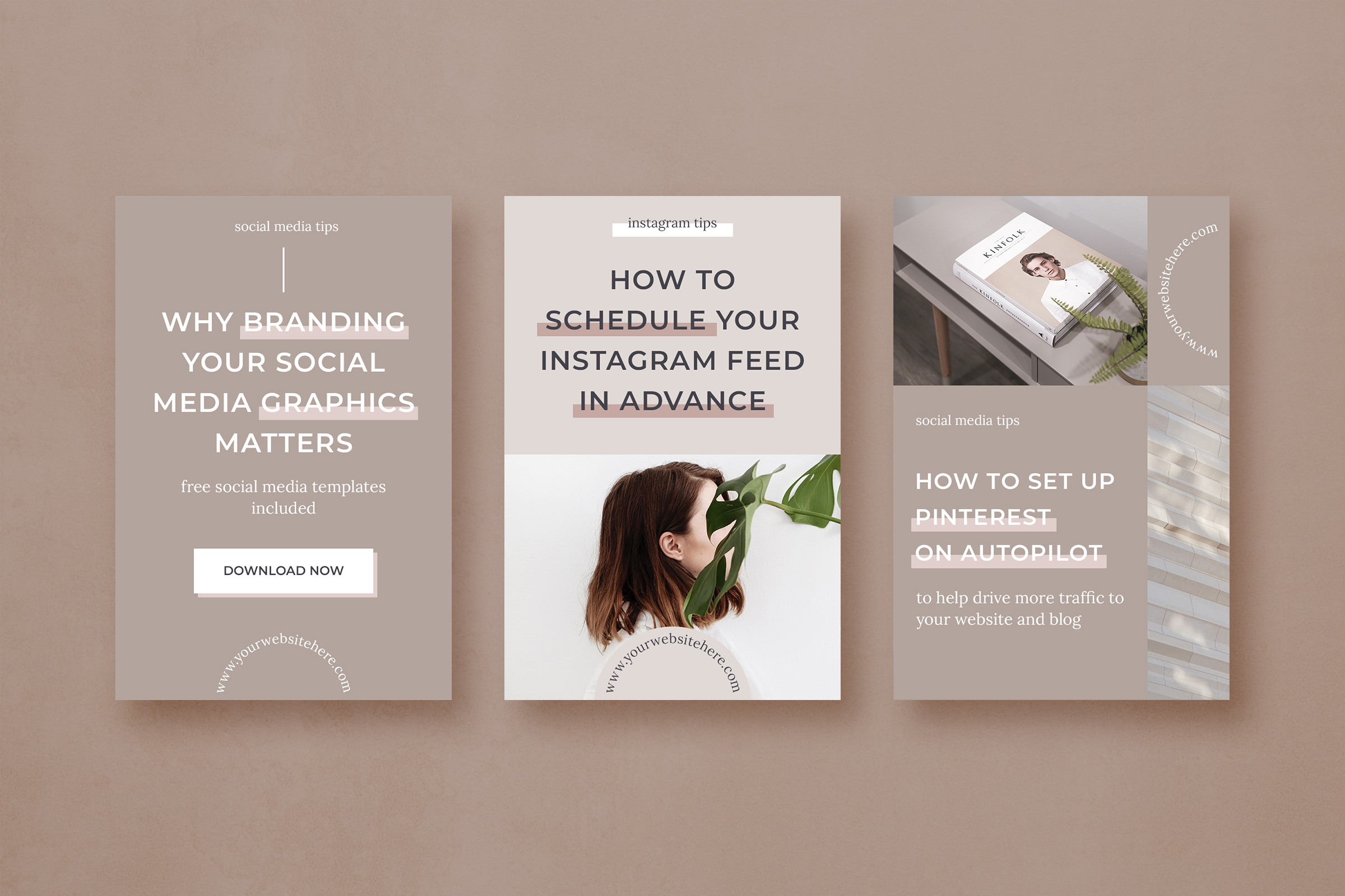 Pinterest marketing graphics template pack example image 5