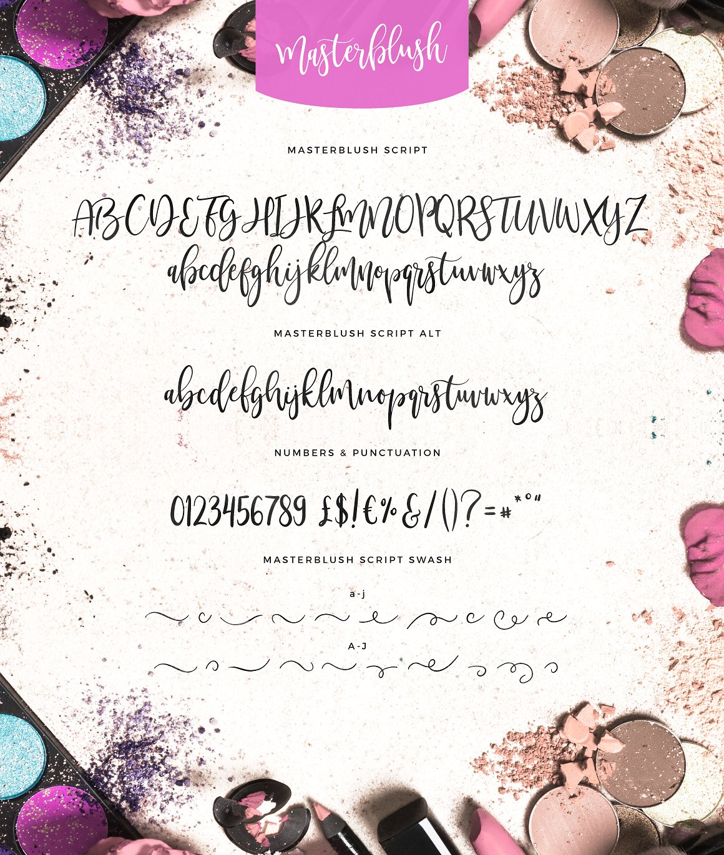 Masterblush Font example image 10