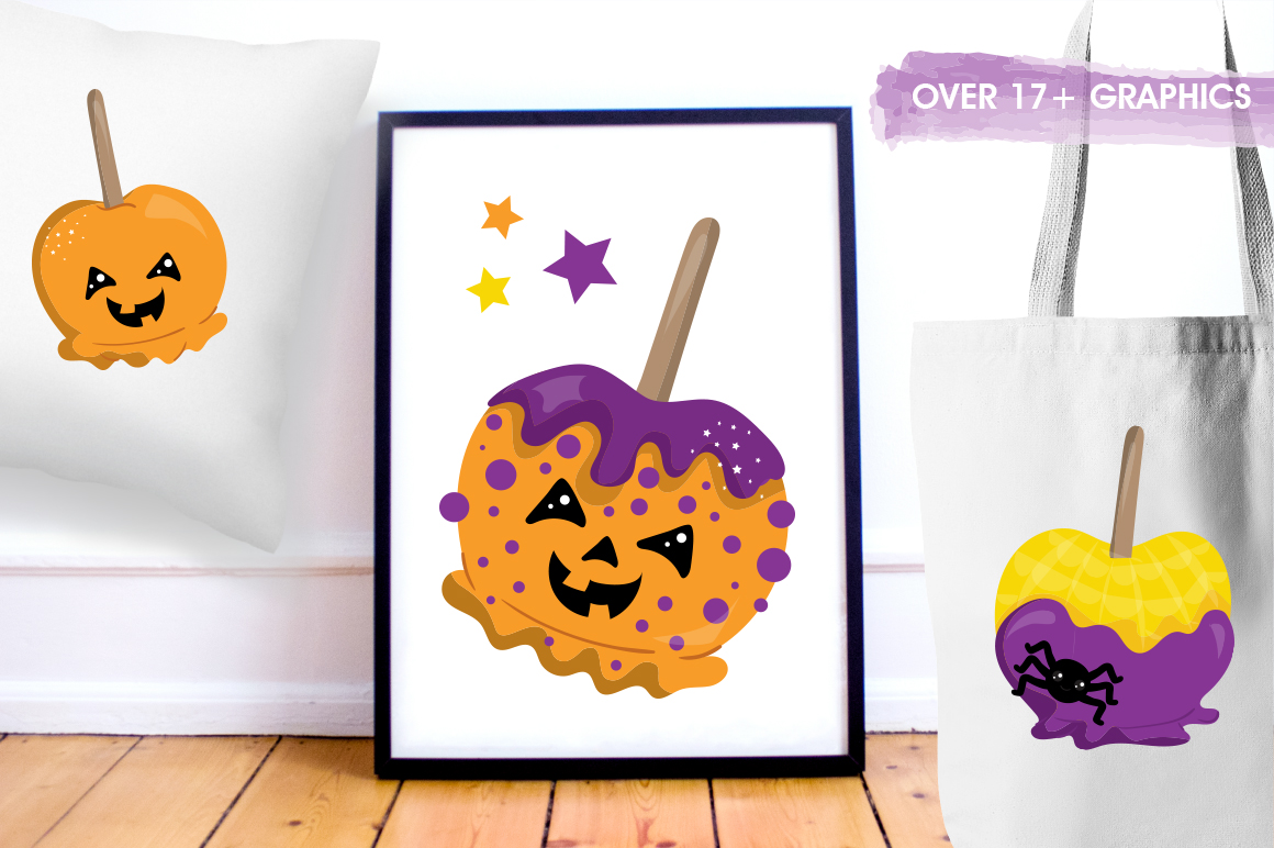Pumpkin graphic and illustrations example image 4