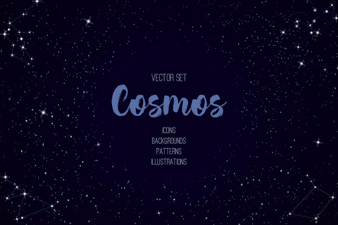 Cosmos vector set example image 1