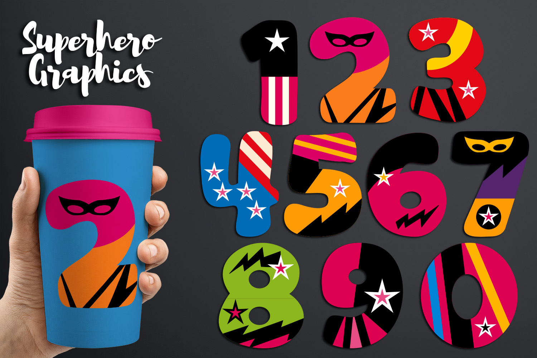 Illustrations Huge Bundle - Superhero Clip Art Graphics example image 25