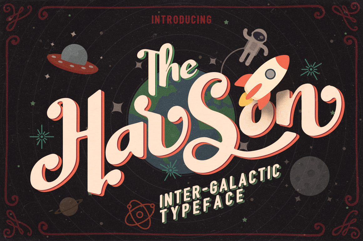 Harson: Inter-Galactic Interface example image 1