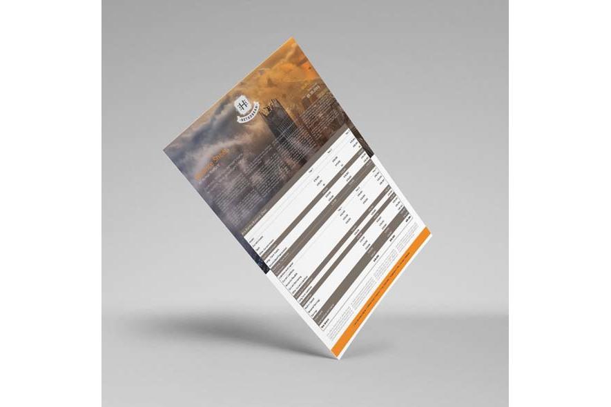 Company Balance Sheet A3 Template example image 5