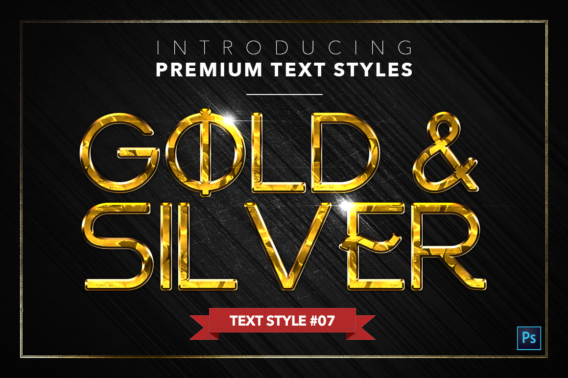 Gold & Silver #5 - 15 Text Styles example image 8