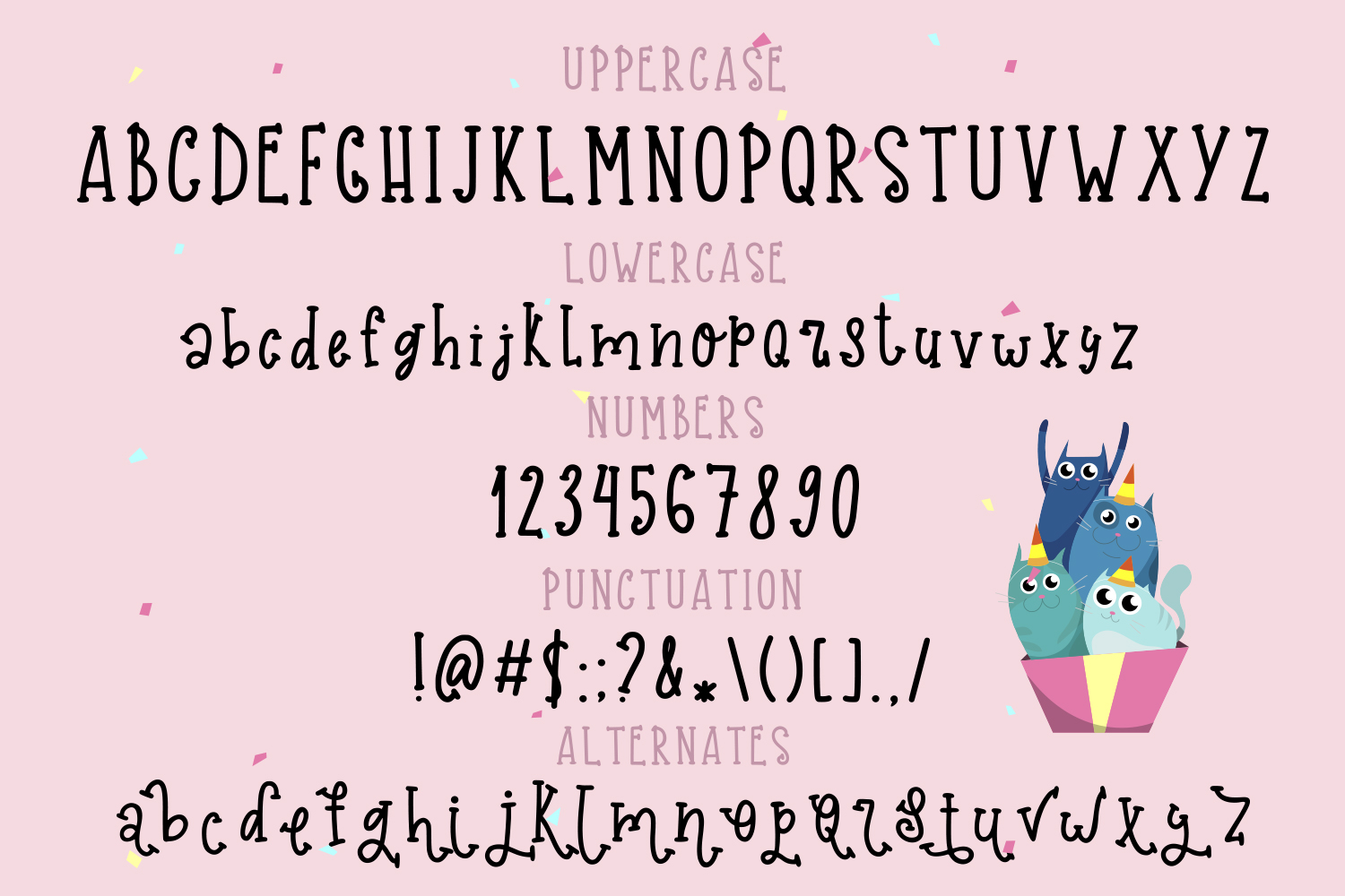 Party Gnome Font example image 4
