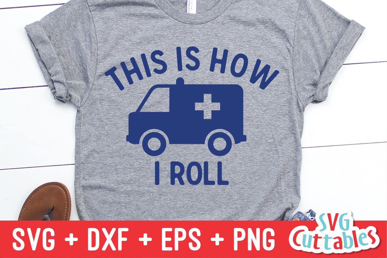Paramedic / EMT Bundle 1 | SVG Cut File example image 29
