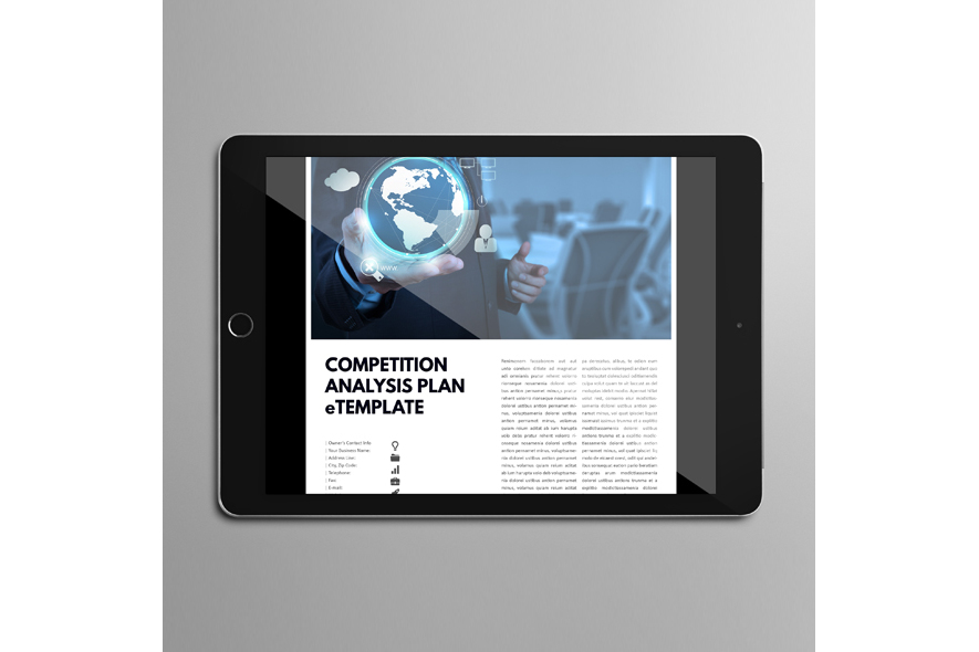 Competition Analysis Plan eTemplate example image 2