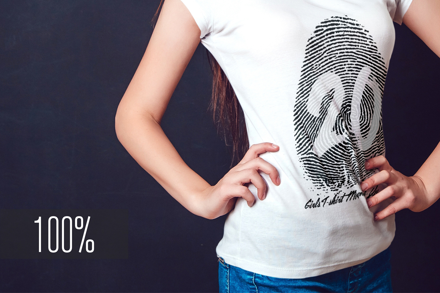 20 Top Girls T-Shirt Mock-Up example image 6