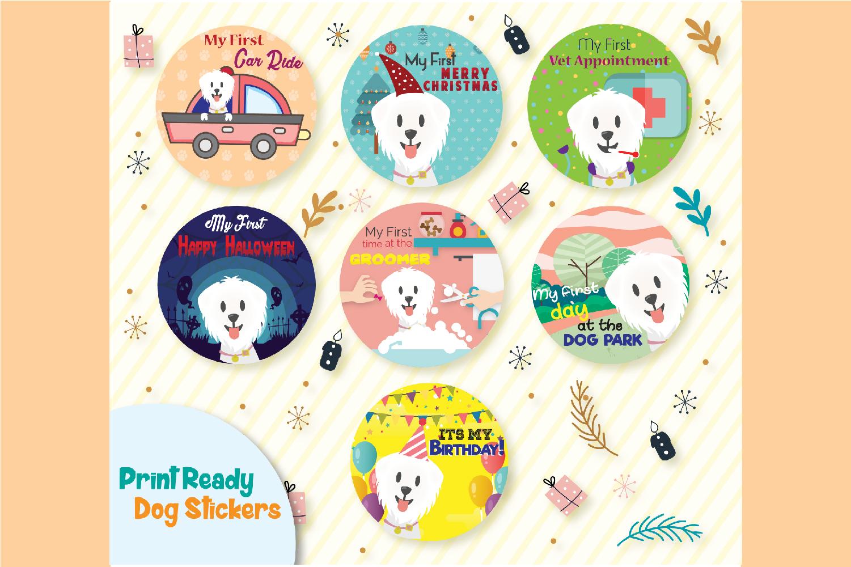 Dog stickers example image 1