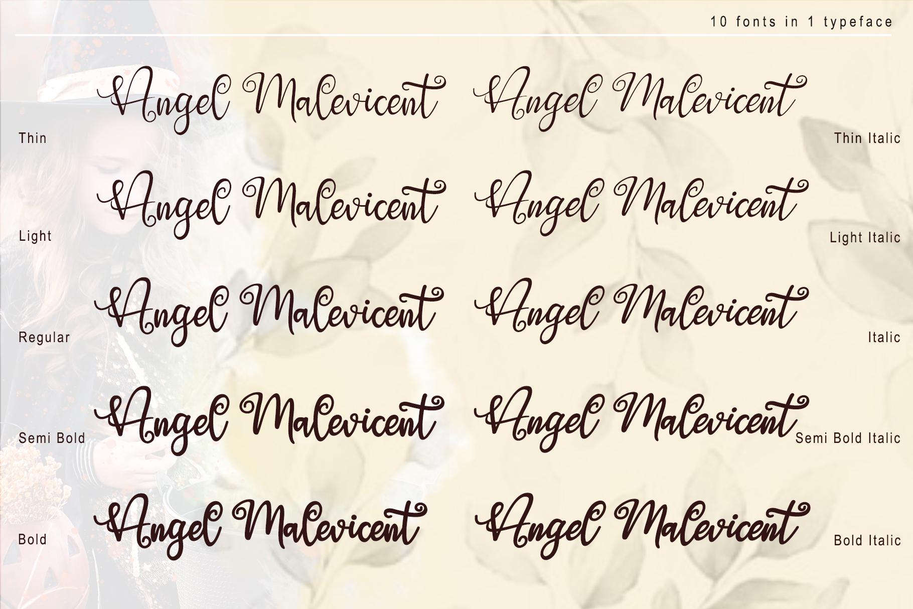 Angel Maleficent example image 3