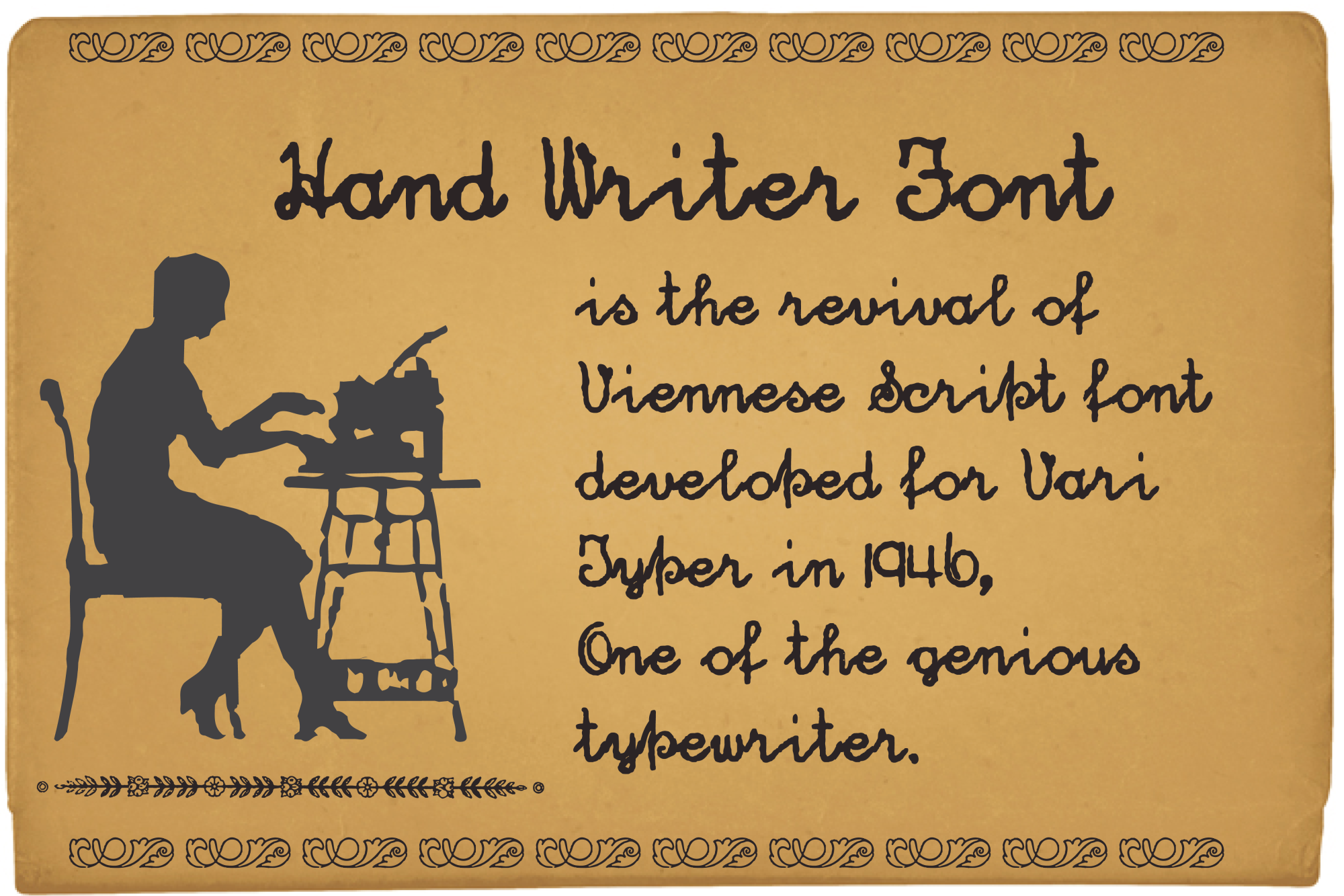 Hand Writer example image 9